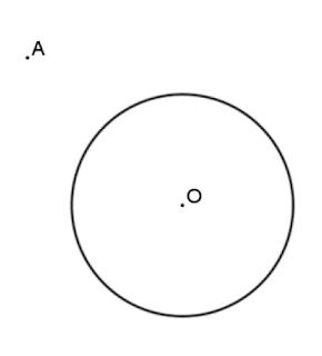 נקודה מחוץ למעגל